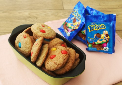 Cookie Americano com Confeitos de Chocolate | CyberCook