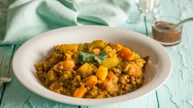 curry de lentilha/cybercook