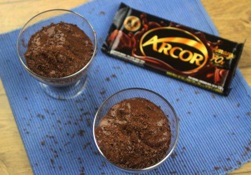 Mousse de Chocolate Arcor 70%