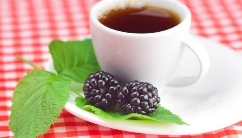 Chá Verde com Amora