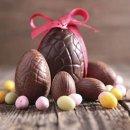Ovo de Páscoa de Chocolate Fácil