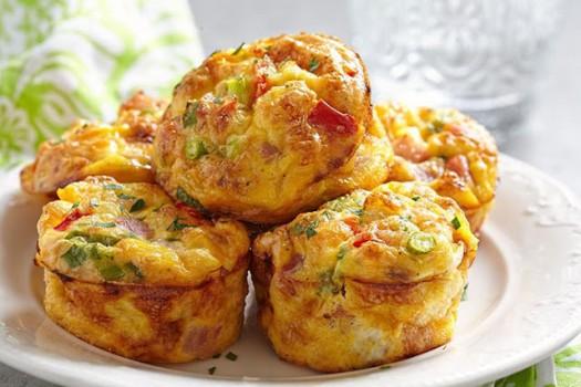 Muffin de Vegetais
