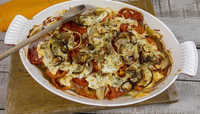Bacalhau com Batatas ao Forno