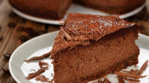 Cheesecake de Chocolate e Café   CyberCook