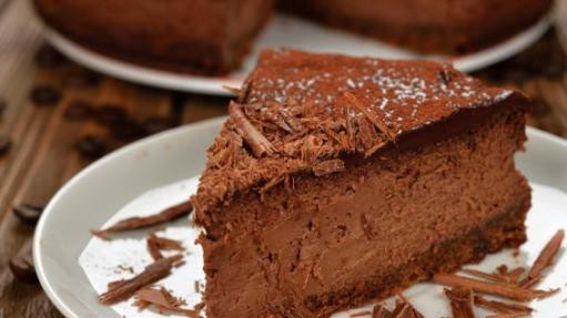 Cheesecake de Chocolate e Café