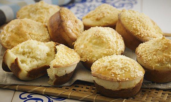 Muffin de Frango e Queijo