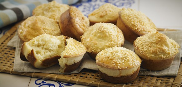 Muffin de Frango e Queijo | CyberCook