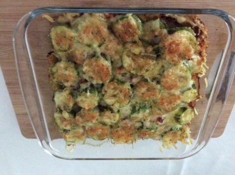 Tortinha de Abobrinha e Bacon | eliane cecconi