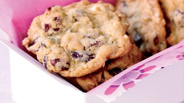 Cookie Vegano de Chocolate e Cranberry