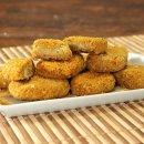 Nuggets Vegano de Grão de Bico