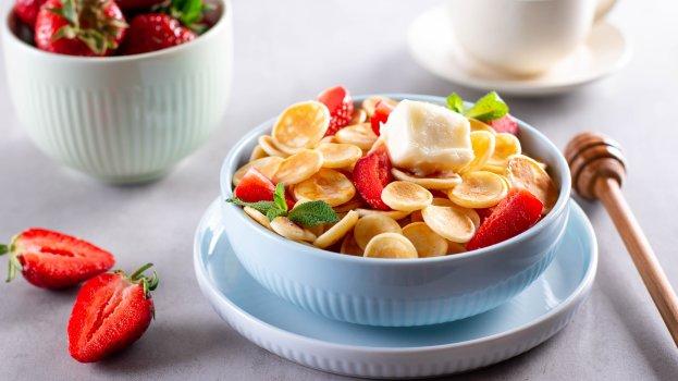 Cereal de Panqueca Americana