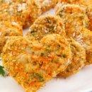 Nuggets Vegano de Cenoura e Curry