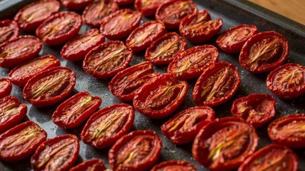 Tomates Secos no Microondas
