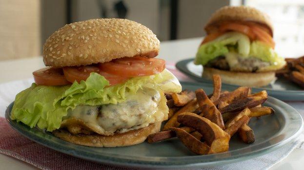 Hambúrguer Nutritivo com Vegetais