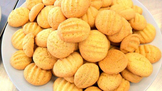 Biscoitos de Milho e Erva Doce