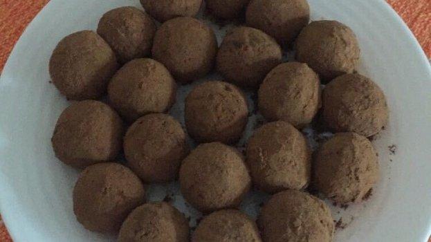 Trufa de Chocolate Saudável