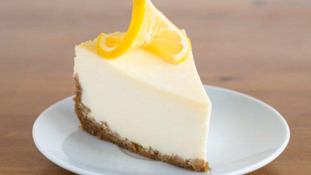 Torta de Limão Low Carb