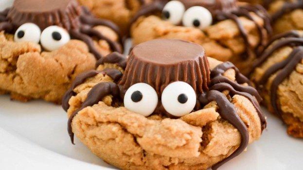Cookie de Chocolate Aranha