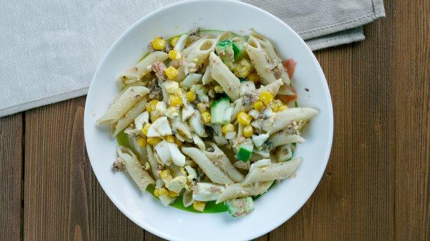 Salada de macarrão com sardinha/CyberCook