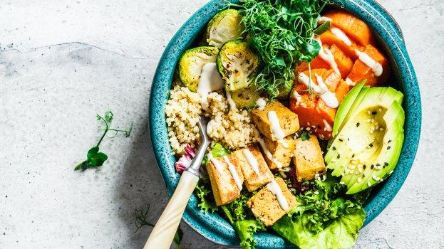 Poke de Tofu Vegano