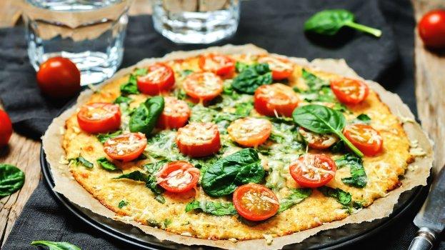 Pizza Vegana Low Carb