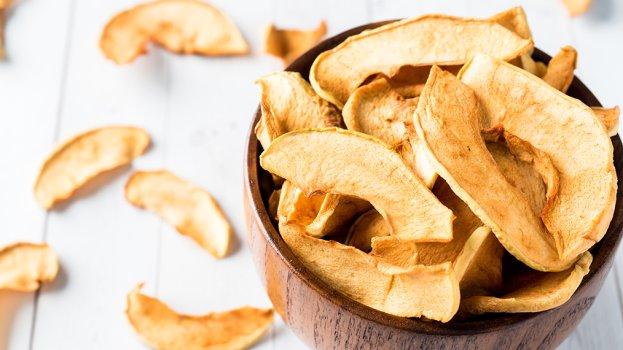 Chips de Maçã na Air Fyer