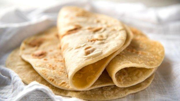 Flat Bread  - Pão de Frigideira Fácil