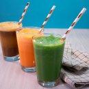 Suco Detox de Melão e Verduras