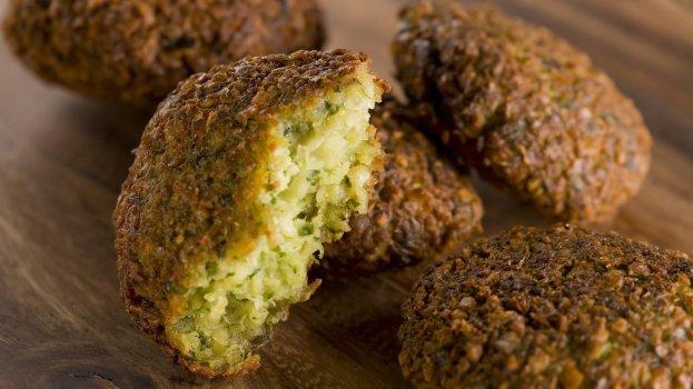 Falafel (Bolinho de Grão de Bico Vegano)
