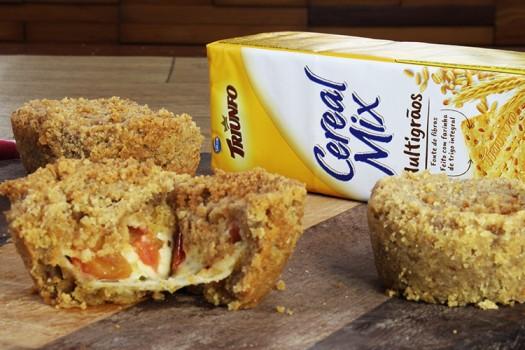 Empadinhas de Marguerita com Biscoito Triunfo Cereal Mix Multigrãos