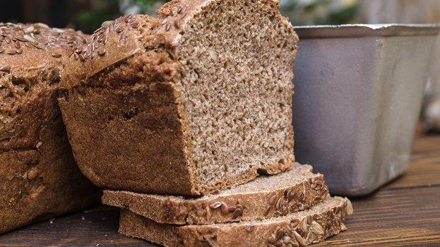 Pão de Fôrma Integral sem Lactose
