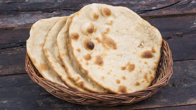 Pão Chapati sem Lactose