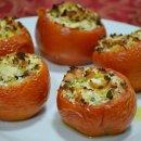 Tomates Recheados com Carne Moída