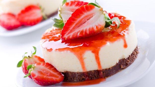 Cheesecake de Iogurte e Granola
