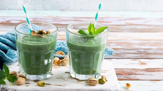 Drink Verde de Spirulina Sem Álcool