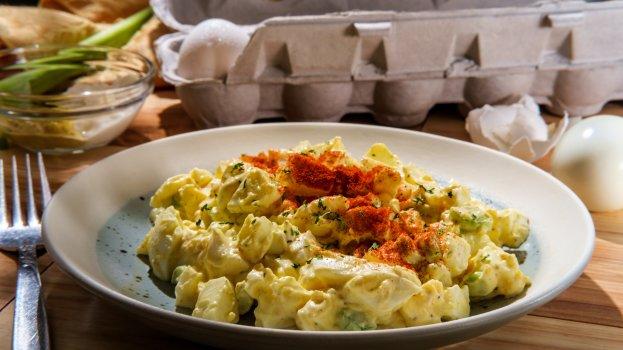 Salada de Ovos com Sardinha