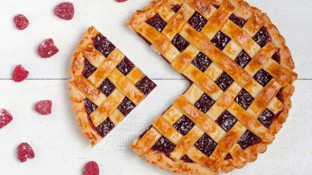 Torta de Frutas Vermelhas Sem Lactose