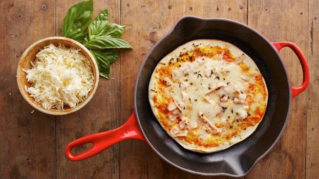 Pizza Crepioca de Frigideira