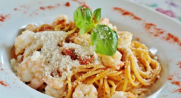 Espaguete com Camarão | CyberCook