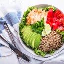 Bowl de Abacate com Frango