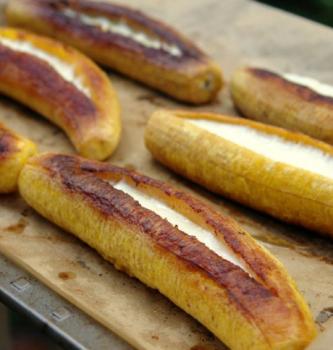 Banana-da-Terra com Queijo