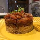 Tartar de Atum com Quinoa