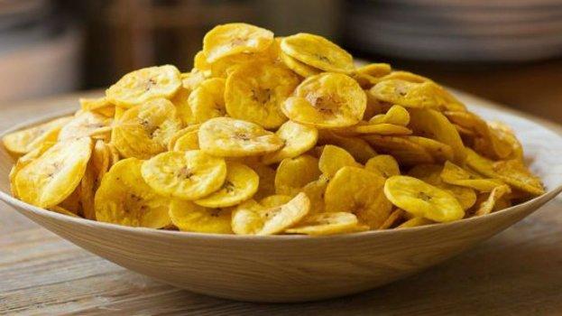 Chips de Banana na Air Fryer