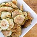 Chips de Abobrinha na Air Fryer