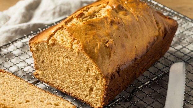Pão de Amendoim Low Carb
