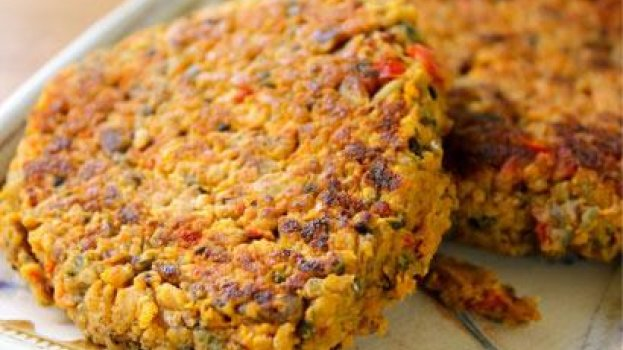 Hambúrguer Proteico de  Quinoa
