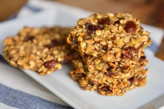 Cookies de Banana e Aveia