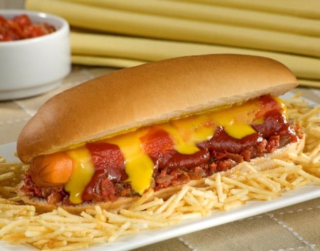 Hot dog com molho calabresa/cybercook