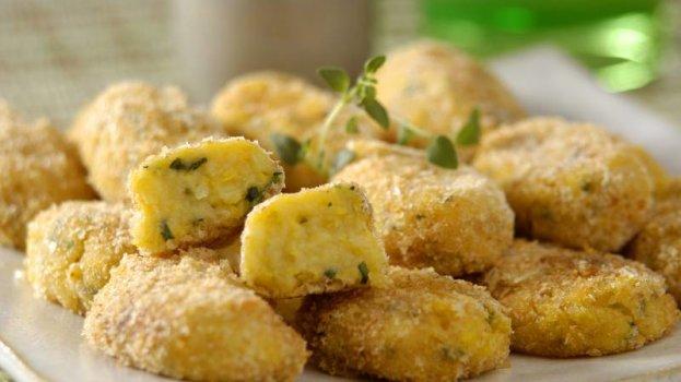 Croquete de Milho Verde