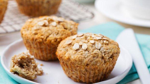 Muffin de Maçã com Granola